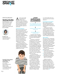 "Dr Zena Lim on ""Seeing double"" This Quarterly, Issue 4, 2015: Specialist Opinions"